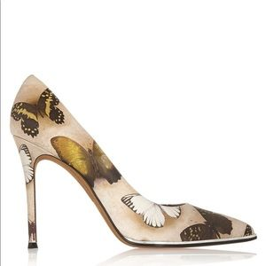 Givenchy Lia Butterfly Print Pumps/ Heels